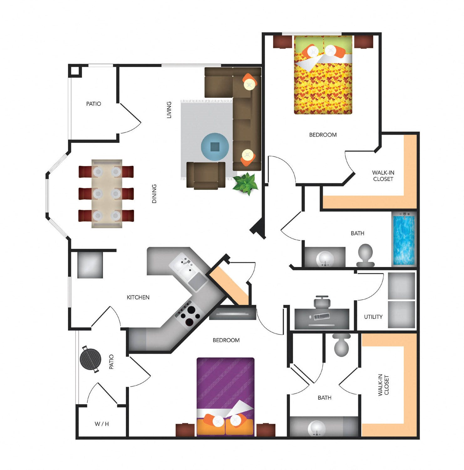 Bella Vista Lower Floor Plan 5