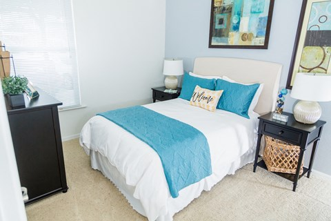Mediterra Apartment Homes Furnished Apartment Bedroom