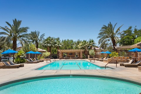 Mediterra Apartment Homes Lifestyle - Pool Deck & Pool