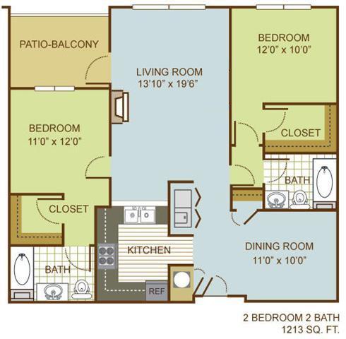 The Egret Floor Plan 3
