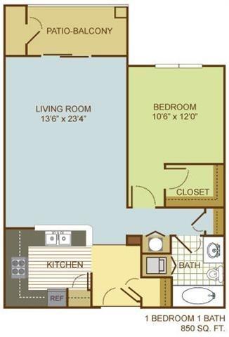 The Dunlin Floor Plan 1