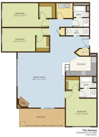 The Gannet Floor Plan 6