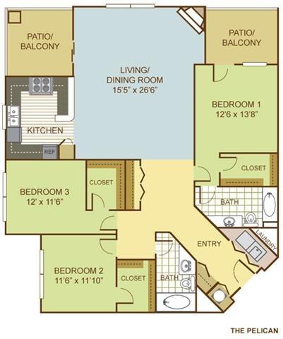 The Pelican Floor Plan 15