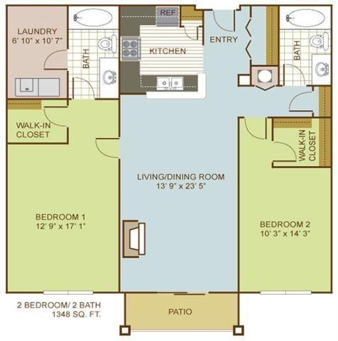 The Sandpiper Floor Plan 5