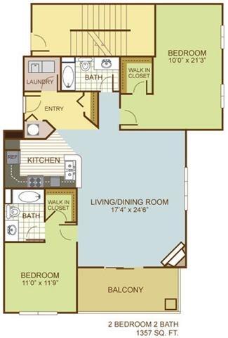 The Seahawk Floor Plan 14