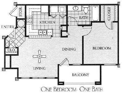 Meridian Club Apartments Floor Plans