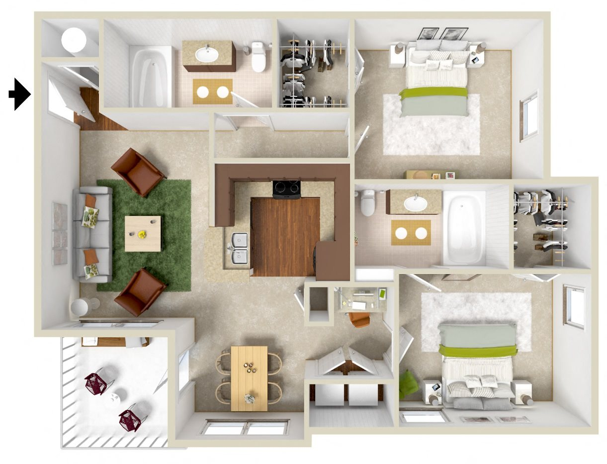 The Wentworth Floor Plan 3