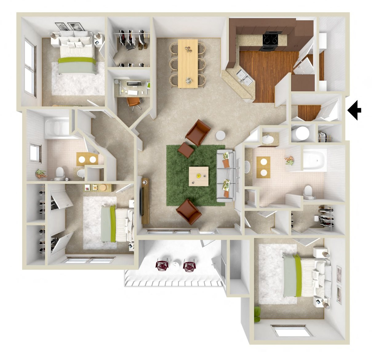 The Calhoun Floor Plan 5