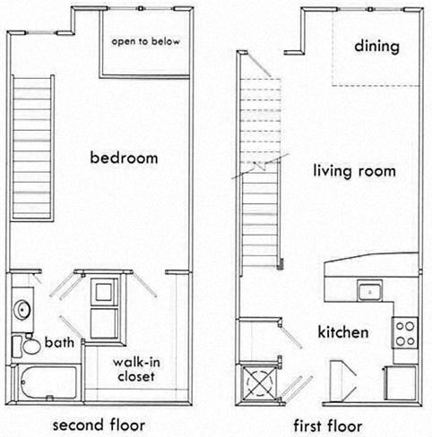 1 bedroom apartments in atlanta home design Atlanta home plans