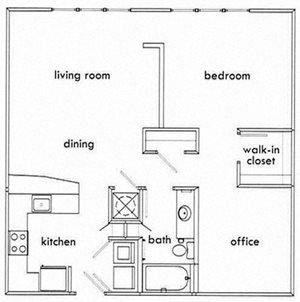 1 Bedroom Apartments in Atlanta