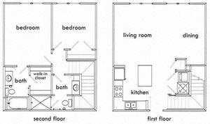 2 Bedroom Apartments in Atlanta