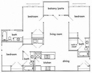 3 Bedroom Apartments in Atlanta