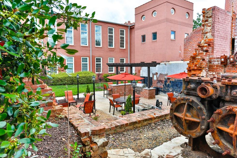 Mill Ruins at Highland Mill Lofts Apartments in NoDa, Charlotte