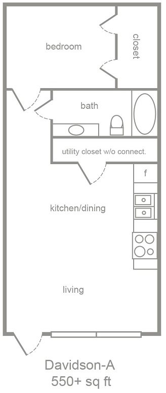 Davidson Floor Plan 1