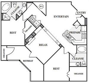2 Bedroom Apartments in Sandy Springs, GA