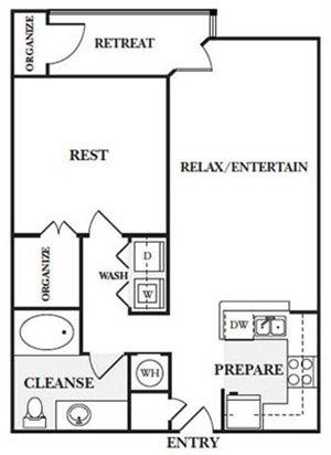 1 Bedroom Apartments in Sandy Springs, GA