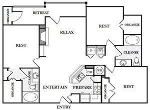 3 Bedroom Apartments in Sandy Springs, GA