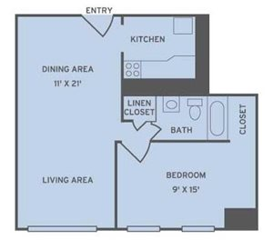 One Bedroom Apartments in Atlanta