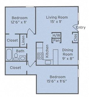 2 Bedroom Apartments in Raleigh, NC