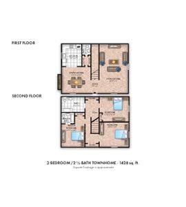 Three Bedroom Deluxe Townhouse