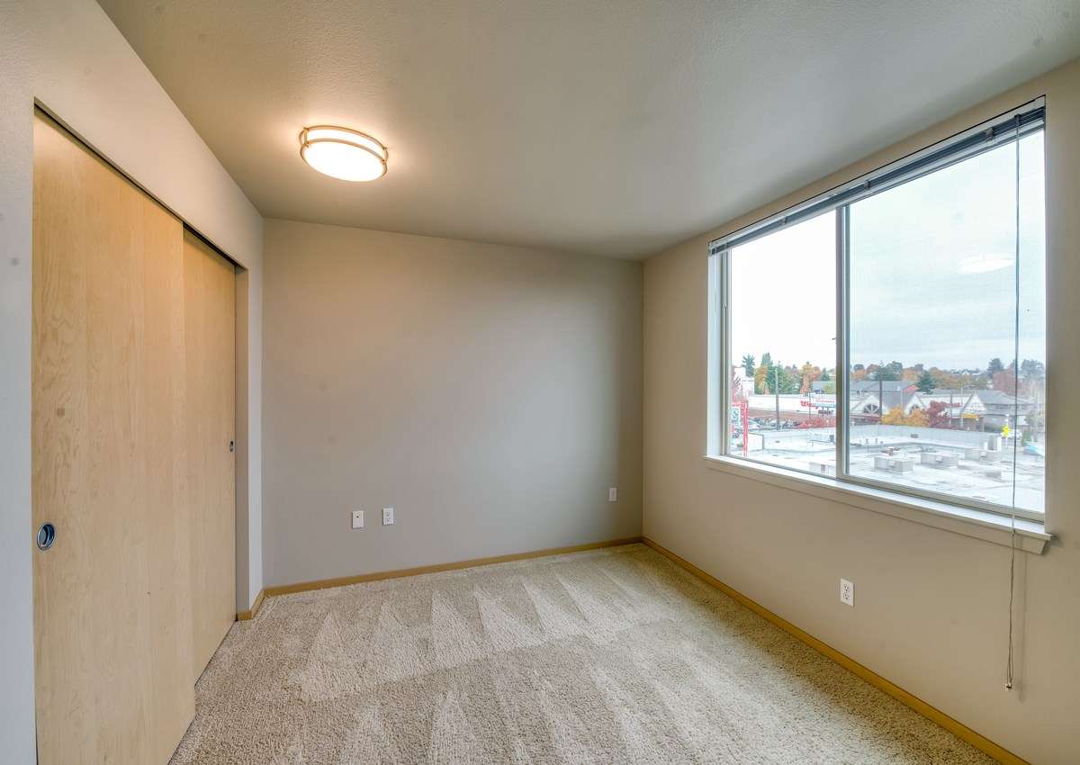 Spacious and bright studio, one and two bedroom floor plans