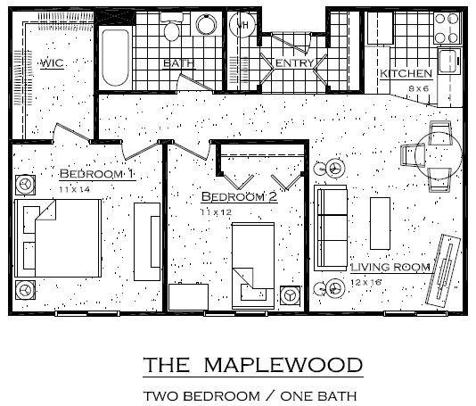 The Maplewood Floor Plan 1
