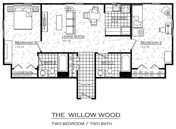 The Willow Wood Floor Plan 4