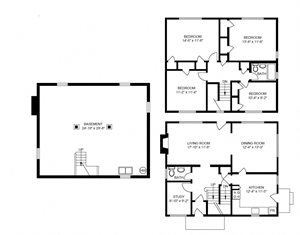 Style S  4 Bedroom House