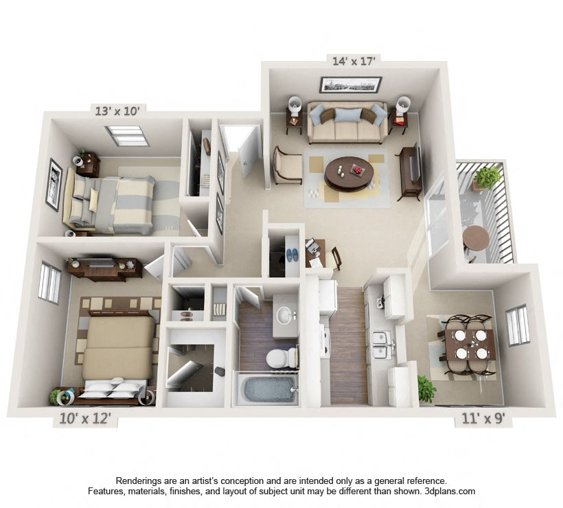 Mahogany Floor Plan 2