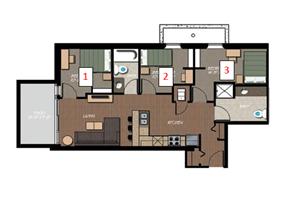 3 Bedroom-Garden