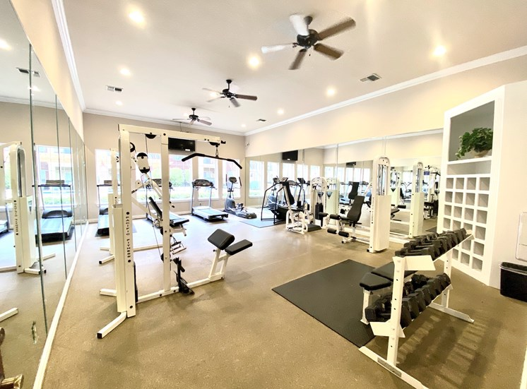 Gates De Provence Apartments with Gym For Lease Dallas Texas