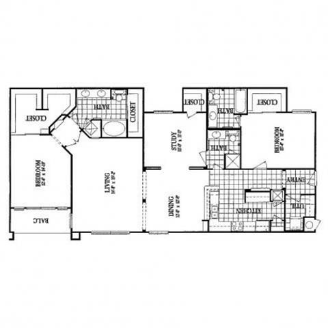 B5 Study Floor Plan 13