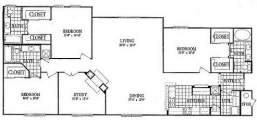 C1 Study Floor Plan 18