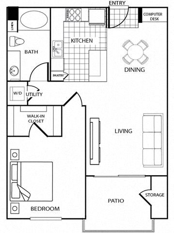 Main Top Island Floor Plan 5