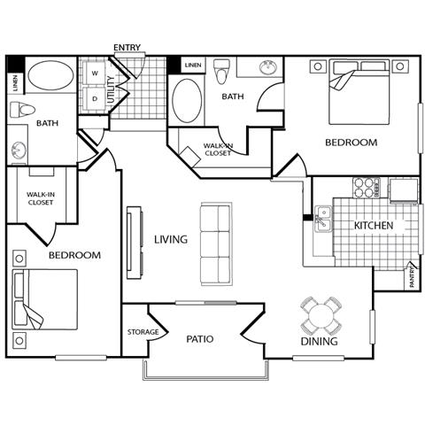Santa Barbara Floor Plan 12