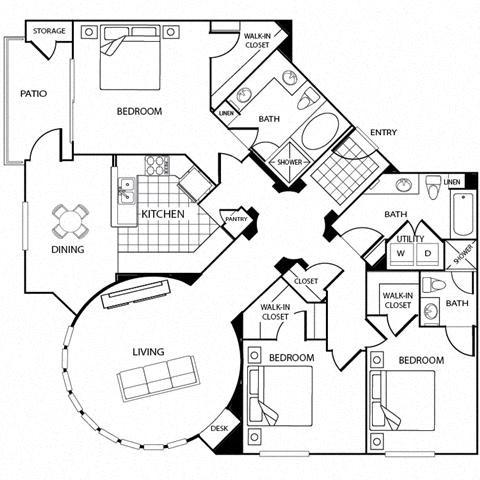 Santa Rosa Floor Plan 13