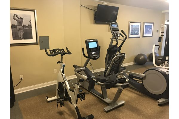 Fully Equipped Fitness Center at The 925 Apartments, 925 25th Street NW, Washington
