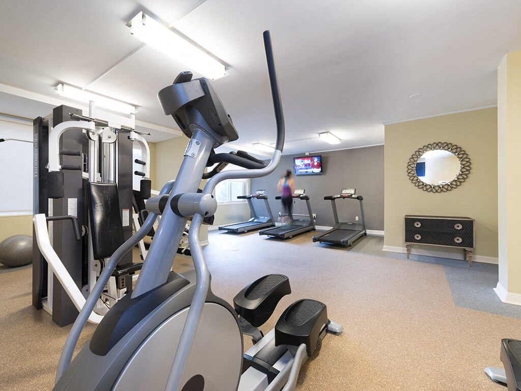 Full equipped Fitness Center at The 925 Apartments, Washington, DC,20037