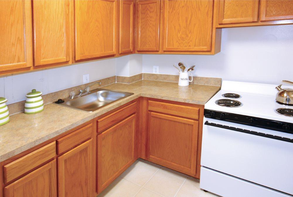 Spacious Kitchen at Studio Apartment in Northwest DC