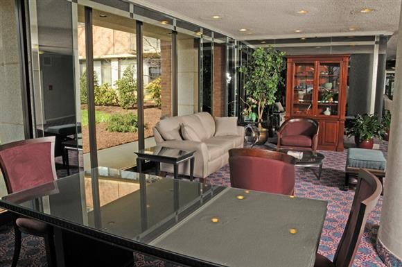 Foyer at Calvert House Apartments in Woodley Park