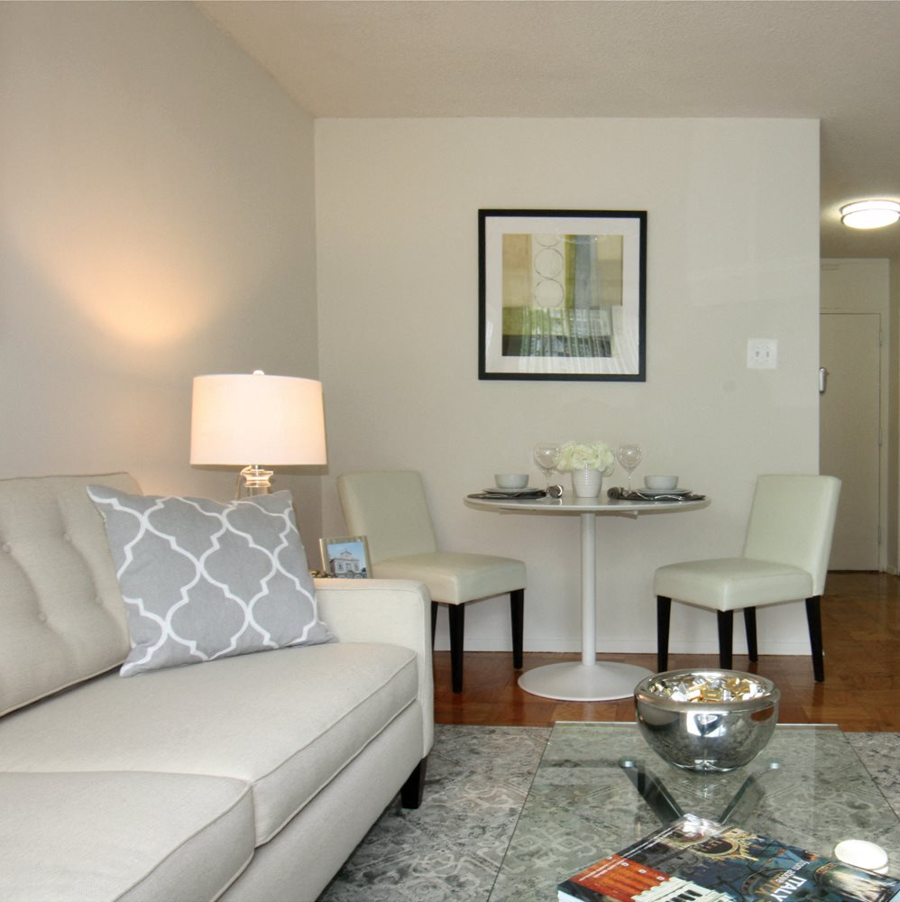 Studio Apartment Interior at Calvert House