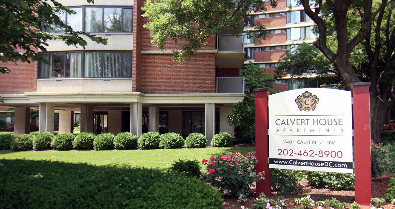 Controlled Access Community At Calvert House Apartments, Woodley Park,  Washington, DC