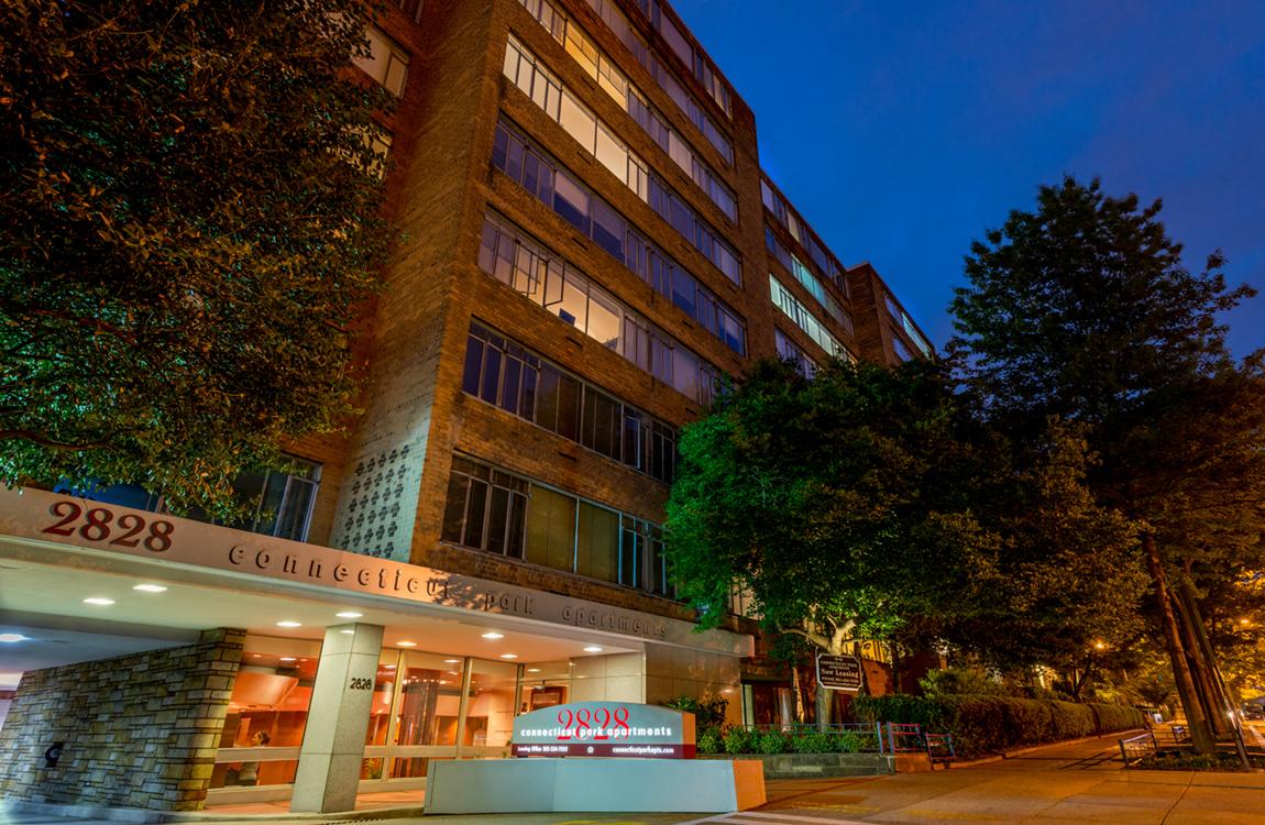 Energy Efficient Lighting At Connecticut Park Apartments, Washington, DC,  20008