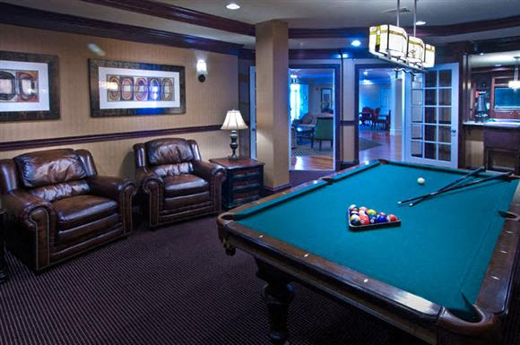 Billiards & Game Room at Evergreens at Columbia Town Center, Columbia, MD,21044