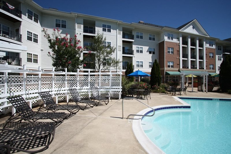 Pool side Relaxing Area at Evergreens at Smith Run, Fredericksburg, VA,22401
