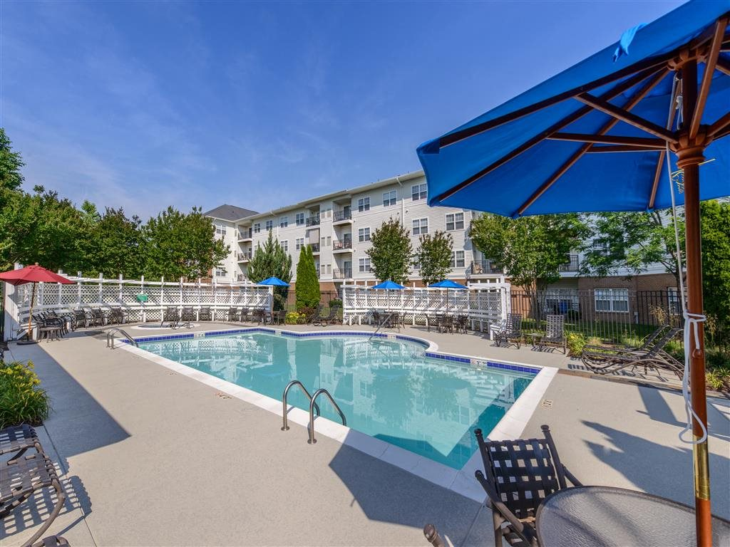 Resort-Style Pool at Evergreens at Smith Run, Fredericksburg, Virginia