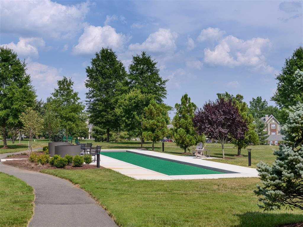 Enjoy Sunshine And Fresh Air On The Bocce Ball Court