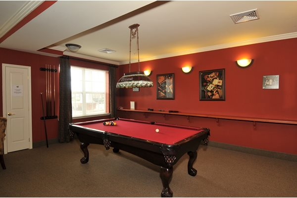 Billiards Room at The Marque at Heritage Hunt, Gainesville, VA,20155