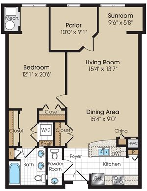 Fieldstone Floorplan at The Marque at Heritage Hunt
