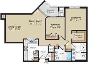 Langston Floorplan at The Marque at Heritage Hunt